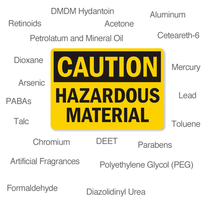 Materials That May Be Hazardous to Your Health