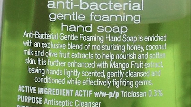 FDA Finally Bans Certain Antibacterial Ingredients Used in Soaps, Including Triclosan