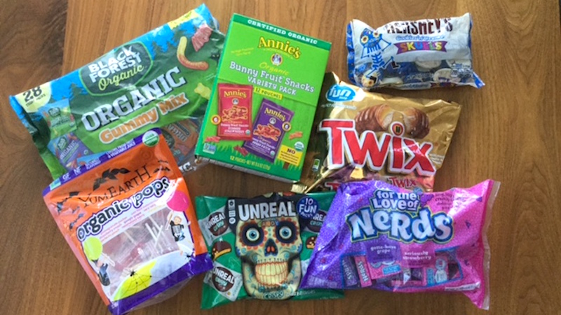 Halloween Candy: The Good, The Bad, and the Scary