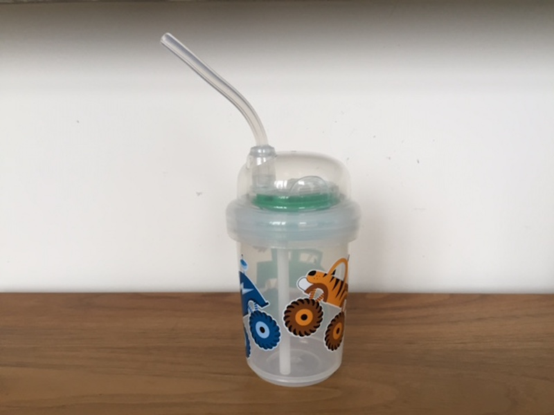Product Review: nuSpin Kids Sip & Spin Straw Cup