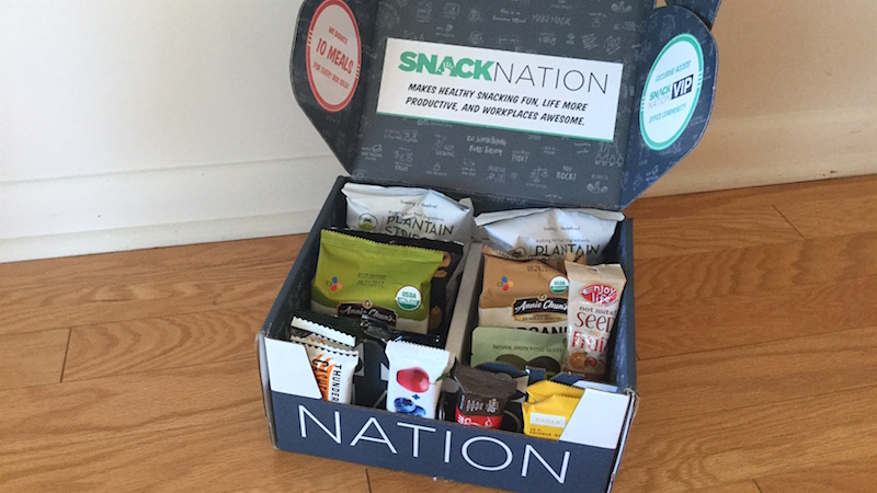 Launch Alert! SnackNation – Healthier Snacks Delivered