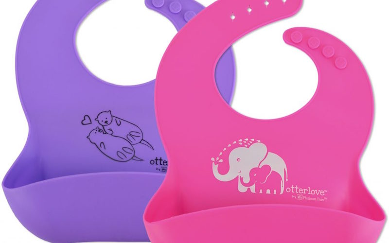 It S A Giveaway Otterlove S Safe Silicone Bib Baby Food Freezer