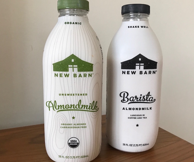 All That Change Thanks To New Barns Organic Unsweetened Almondmilk And Sweetened Barista What A Delight
